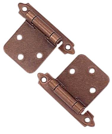 Self-closing hinge - Antique Copper - Pack of 2