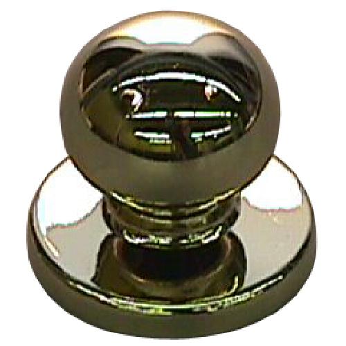 Richelieu Classic Metal Knob - Brass - 31-mm