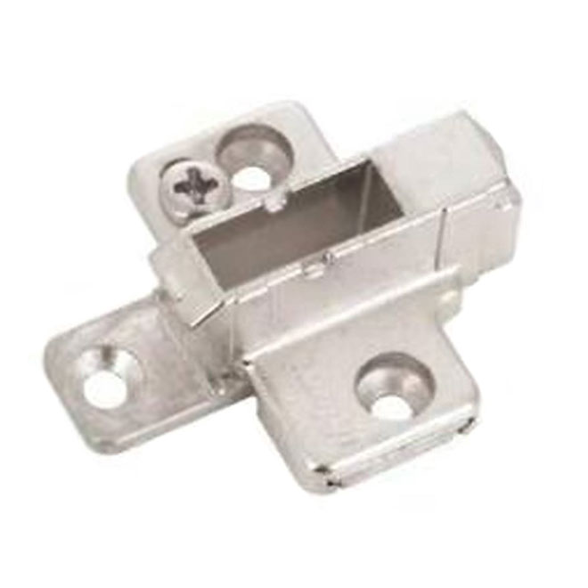 Mounting Plate - 2 Pieces Wing - Nickel