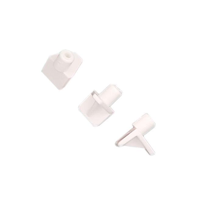 Support à tablette, 6 mm, blanc, 8/pqt