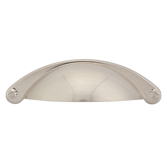Cabinet Handles - Brushed Nickel - 10/Pack