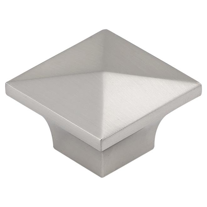 Cabinet Knobs - Modern - Brushed Nickel - 10 pack