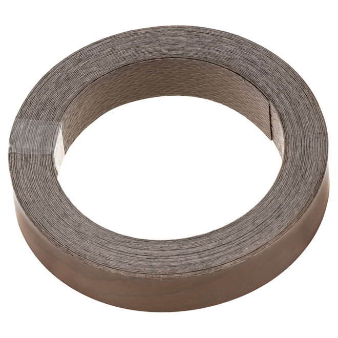 CEDAN Edge Banding - Preglued - 3/4 x 25' - Nut-Choco 34792