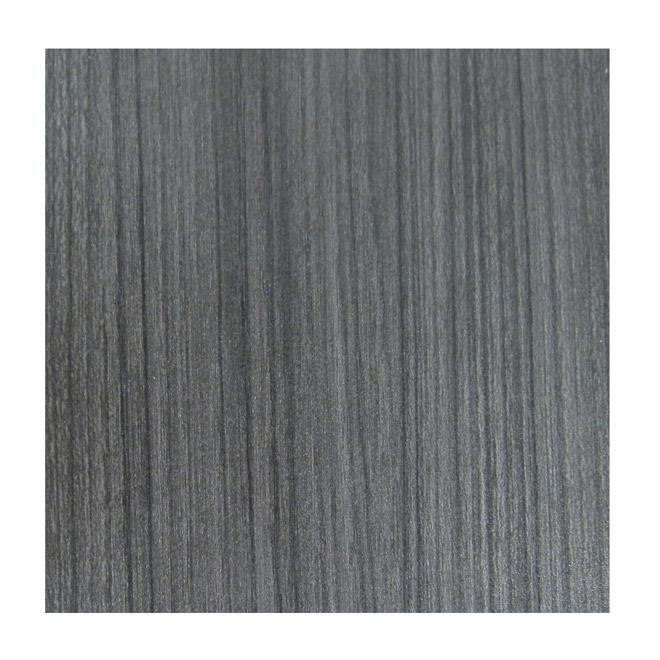 Bande de finition, polyester, réglisse Groovz, ¾ po x 25 pi