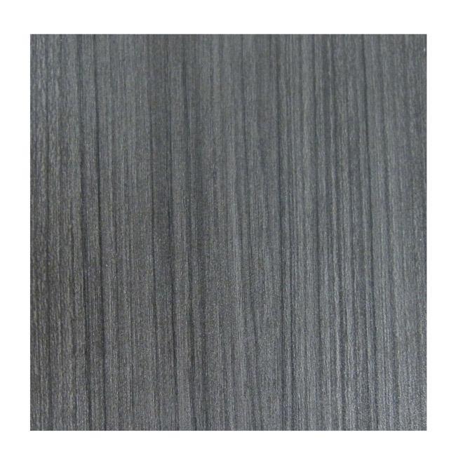 Bande de finition, polyester, réglisse Groovz 3/4 po x 250 pi
