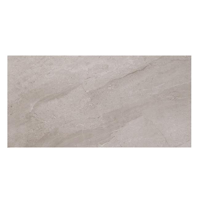 "Porcelain Tiles - 12"" x 24"" - 9/Box - Light Grey"