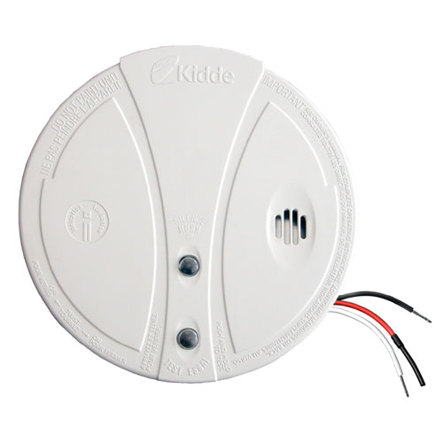 Détecteur de fumée 85 dB, 120 V, blanc