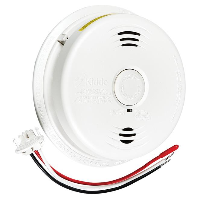 """""""Talking"""" Hardwired Smoke/Carbon Monoxide Alarm"""