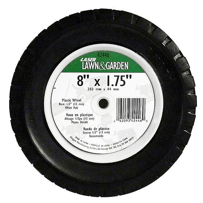 "Universal Wheel for Garden - 8"" x 1 3/4"""