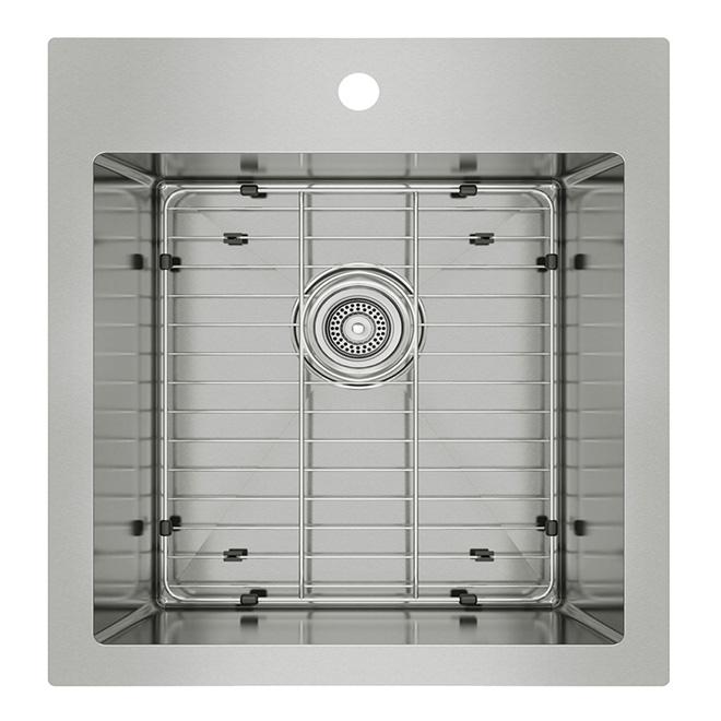 Odyssey Single Kitchen Sink - Stainless Steel