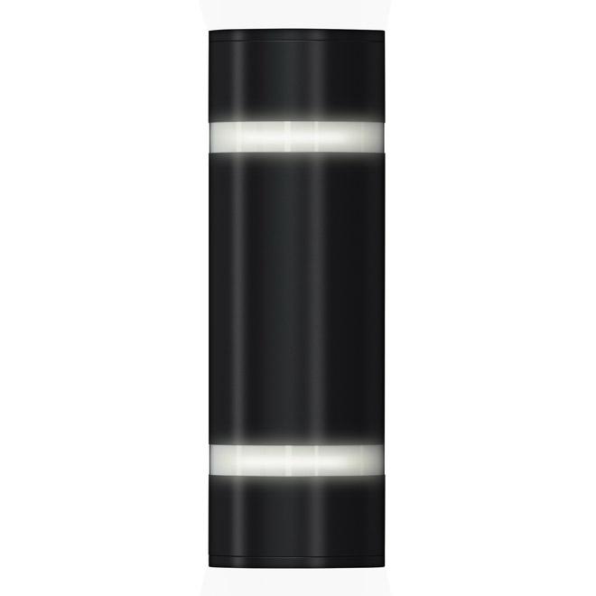 "Artika Indoor/Outdoor 2-Light Wall Sconce - 13"" - Black"