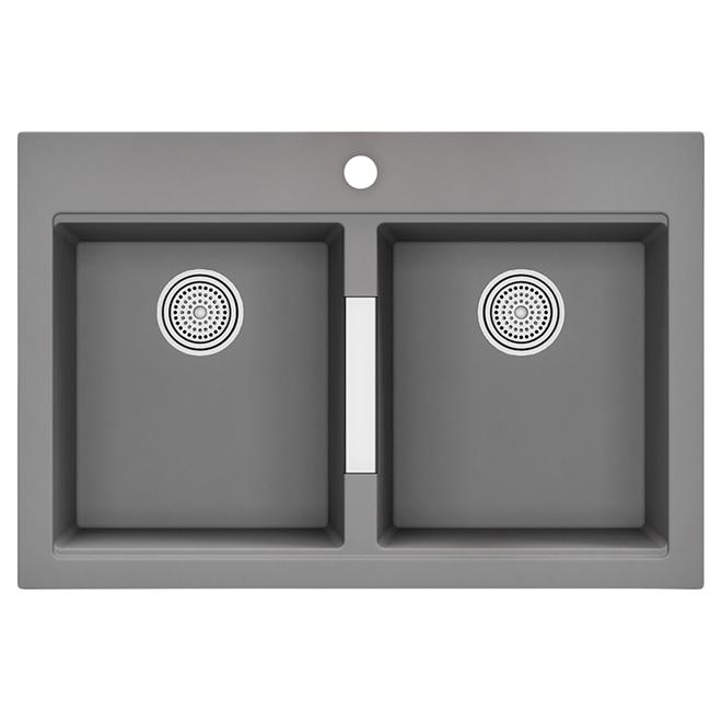 calypso vier de cuisine double gris r no d p t. Black Bedroom Furniture Sets. Home Design Ideas