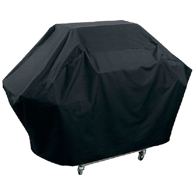 Barbecue Cover - Large - Terylene/PEVA - Black
