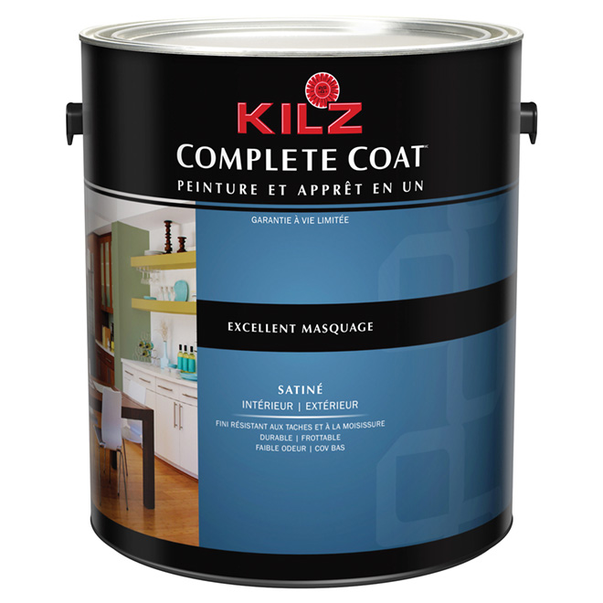 Peinture int/ext « Complete Coat », satin