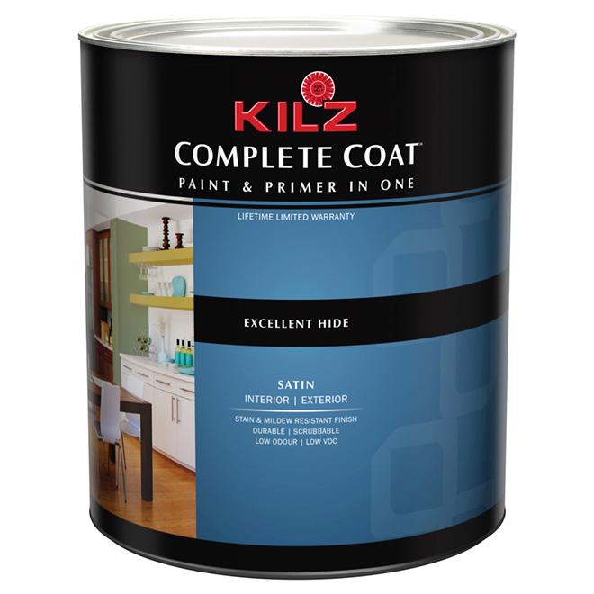 """""""Complete Coat"""" Interior/Exterior Paint - Satin"""