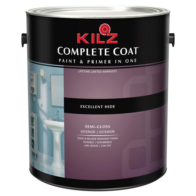 """Complete Coat"" Interior/Exterior Paint - Semi-Gloss"