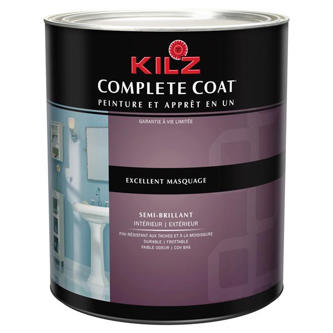 Peinture int/ext « Complete Coat », semi-lustré