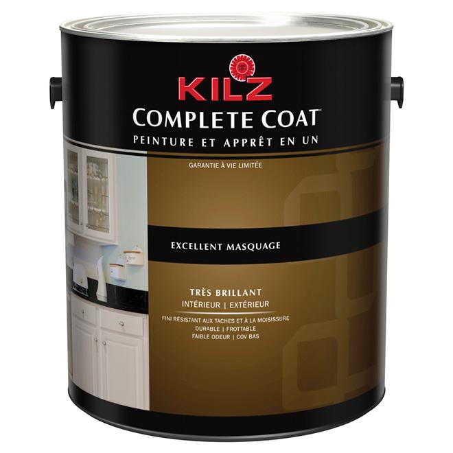 Peinture int/ext « Complete Coat », très lustré