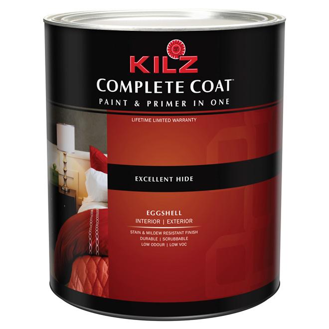 """Complete Coat"" Interior/Exterior Paint - Eggshell"