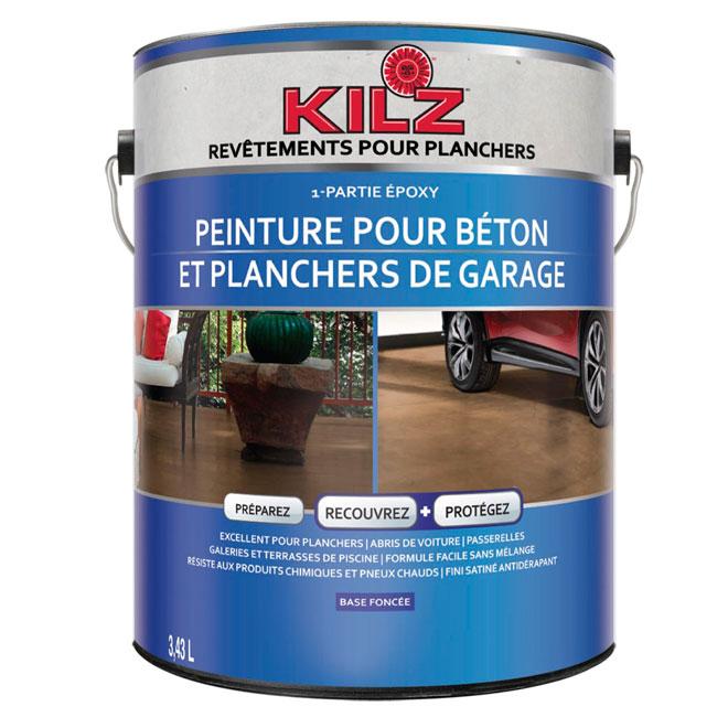Kilz Peinture Bétonplancher Garage L377301c Réno Dépôt