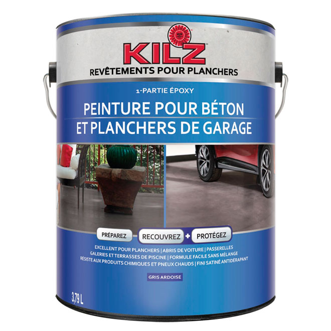 KILZ PEINTURE BÉTON/PLANCHER GARAGE L377701C