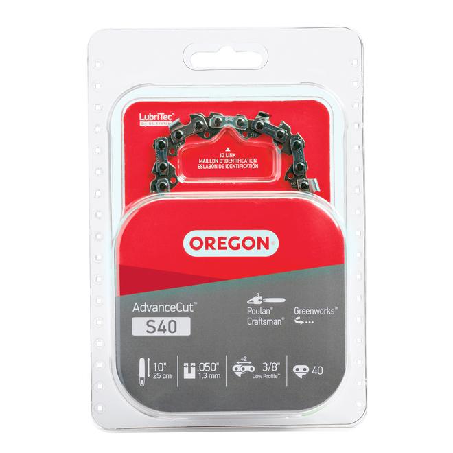 Oregon S40 AdvanceCut(TM) 10-in Chainsaw Chain - 3/8-in Chain Pitch