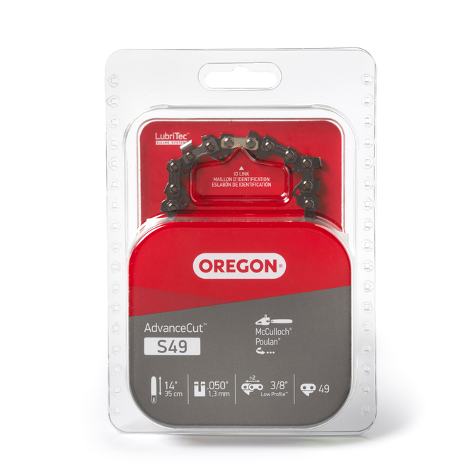 Oregon Replacement Chainsaw Chain S49 AdvanceCut - 14-in