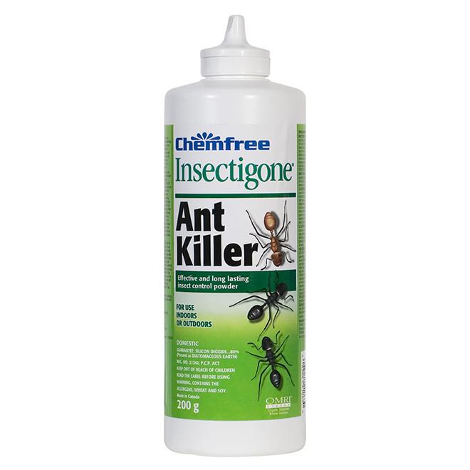 Insecticide naturel pour fourmis