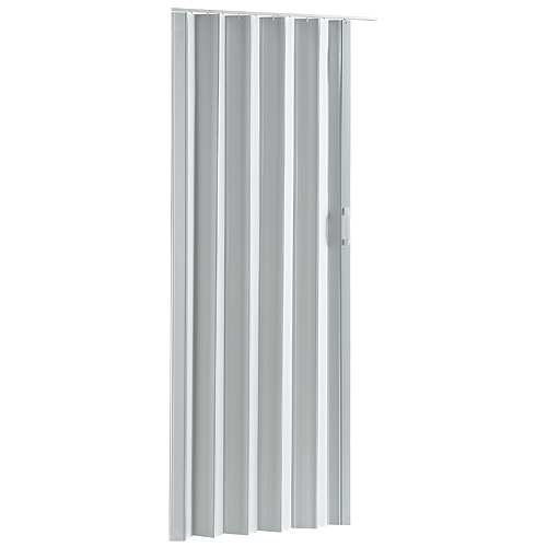 "Colonial Elegance - Via Folding Door - 36"" x 80"" - PVC - White"
