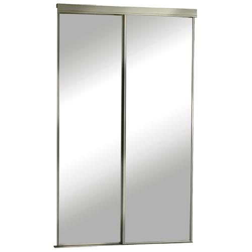 Porte miroir coulissante