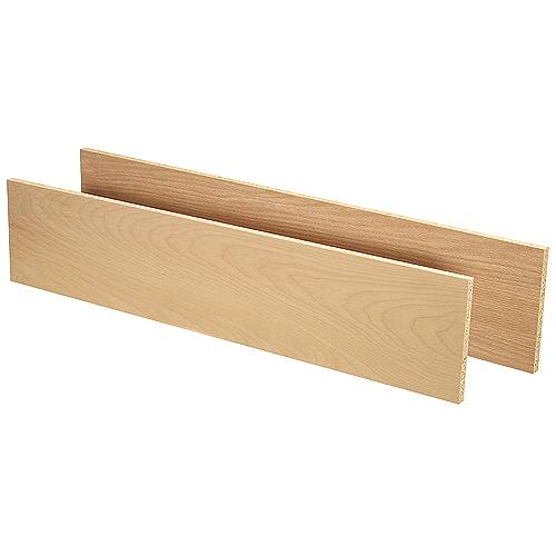 Oak/Maple Veneer Reversible Stair Riser