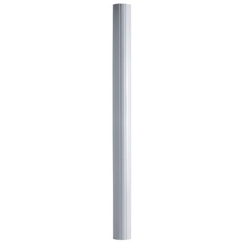 "Aluminum Round Column - 5 1/4"" x 8' - White"