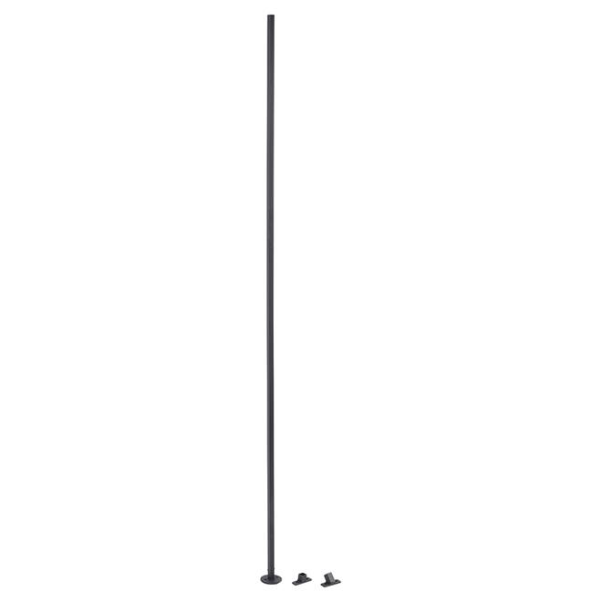 Baluster - Wrought Iron - Black - Zen