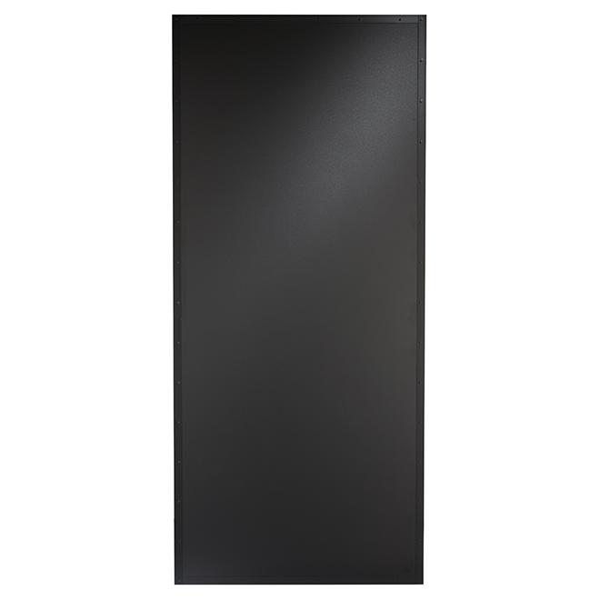 """Porte de placard Tableau noir, 37"""" x 84"""""""