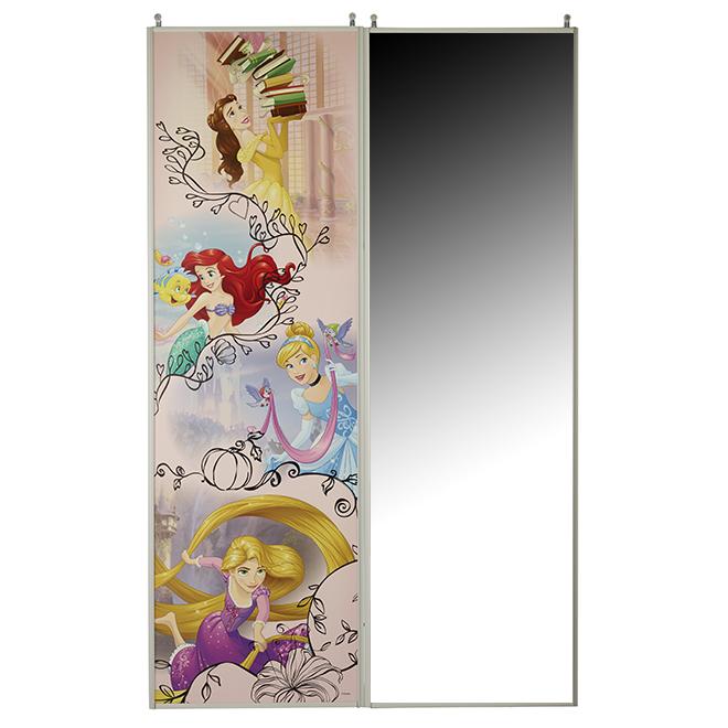 "Princess Sliding Mirror Door - 48"" x 80 1/2"""