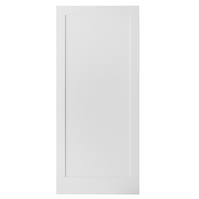 Porte pour rail coulissante 1-Panneau de Colonial Elegance, prête à peindre, 37 po x 84 po