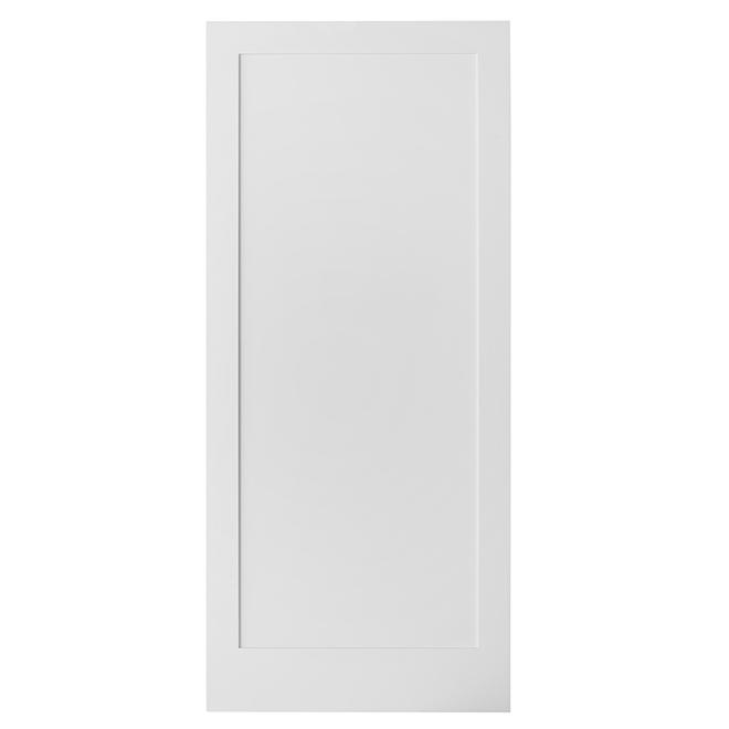 "Colonial Elegance ""1 Panel"" Rail Sliding Door - 37 in. x 84 in."