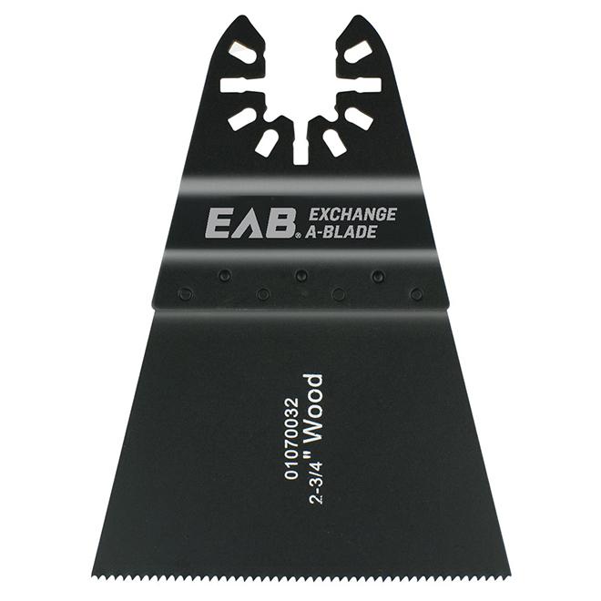"Multi-Tool Wood Flush Cut Blade - 2 3/4"""