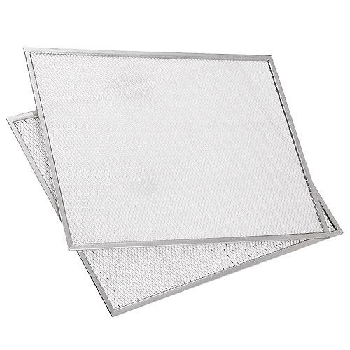 Clean Air HEPA Pleated Pre-Filter - 19-in x 15-in x 0.45-in - 2-Pack