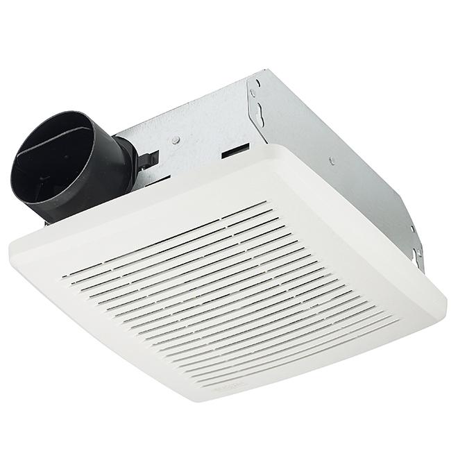 Bathroom Fan - 50CFM - 2.5Sones - White