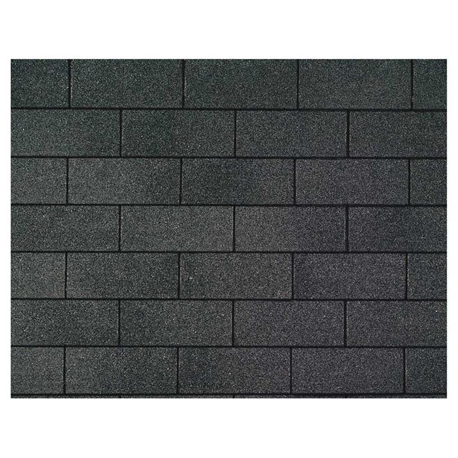 """""""Marathon 25 AR"""" 3-Tab Roof Shingles - Dual Black"""