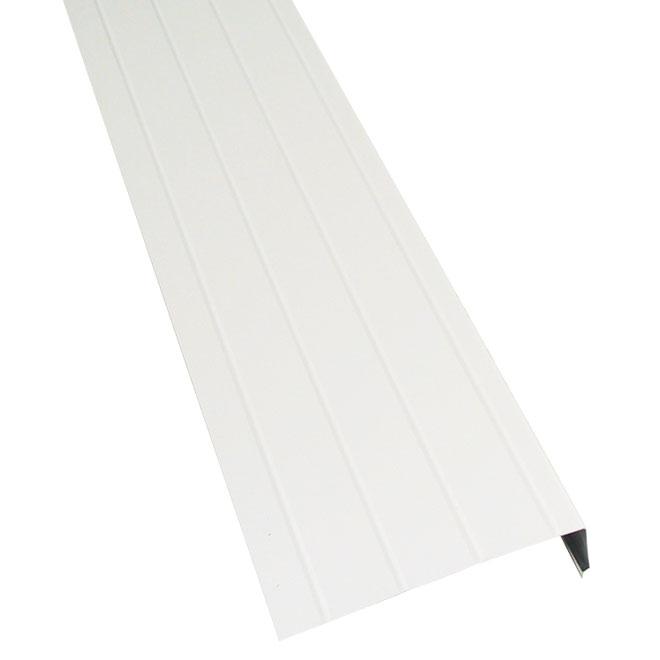 """Aluminium Fascia - 6"""" x 9'10"""" - White"""