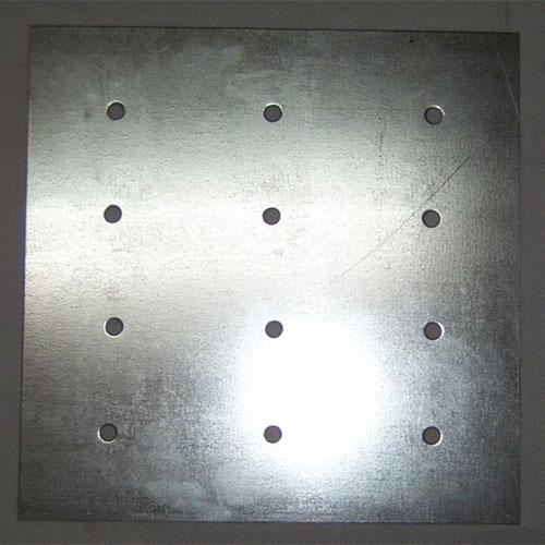 Couvercle de métal