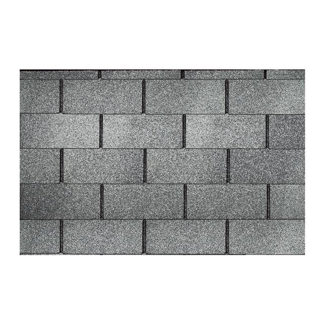 Roofing Shingle Dakota - 32.3 sq.ft. - Fibreglass - Pearl Grey