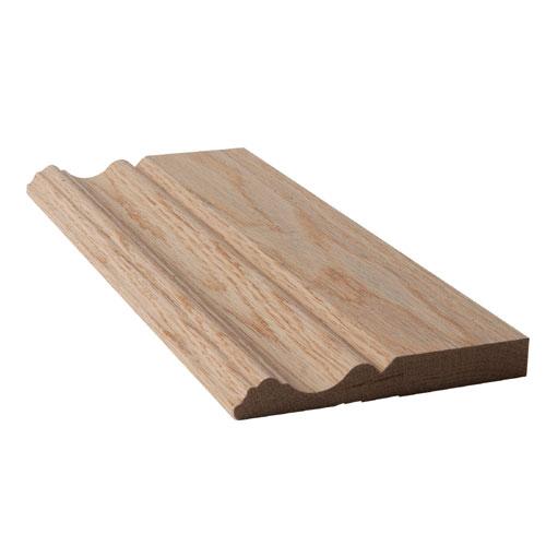 Natural Oak Baseboard