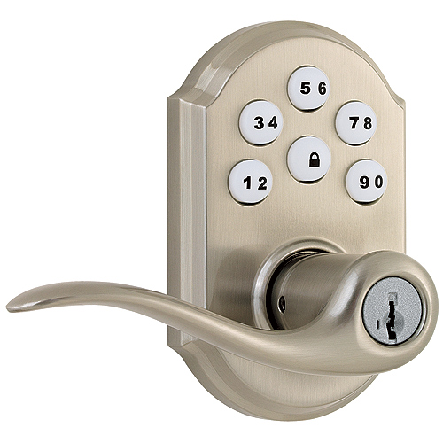 Entrance lever with lectronic Lock