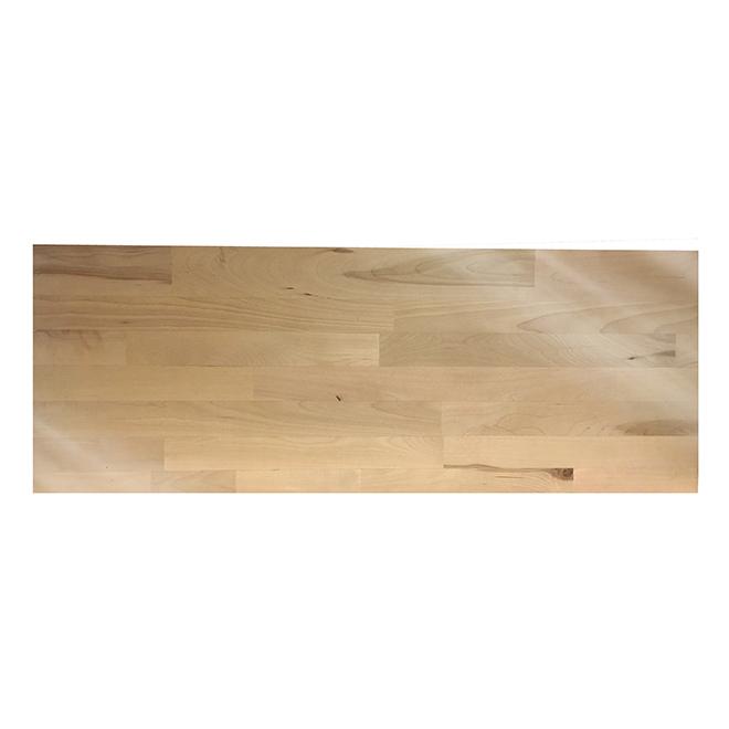 "Prevarnished Wood Tread - Square Model - 42"" - Birch"