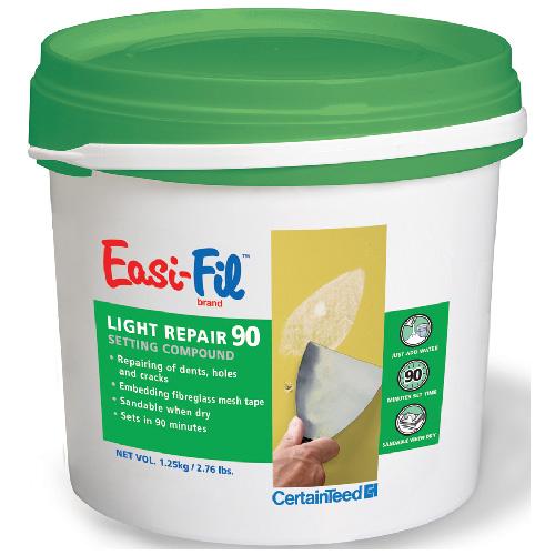 Light Repair 90 Drywall Compound 1.25 kg