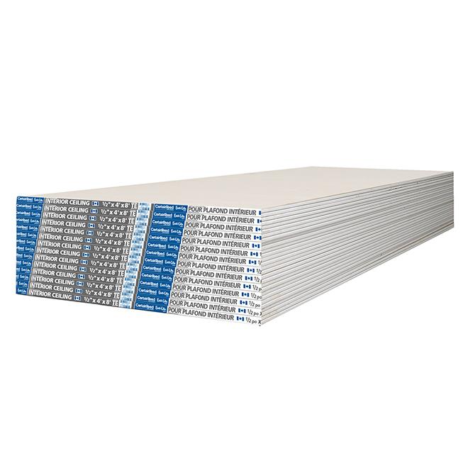 """Gypse d'intérieur pour plafond Easi-Lite - 1/2"""" x 4' x 8'"""