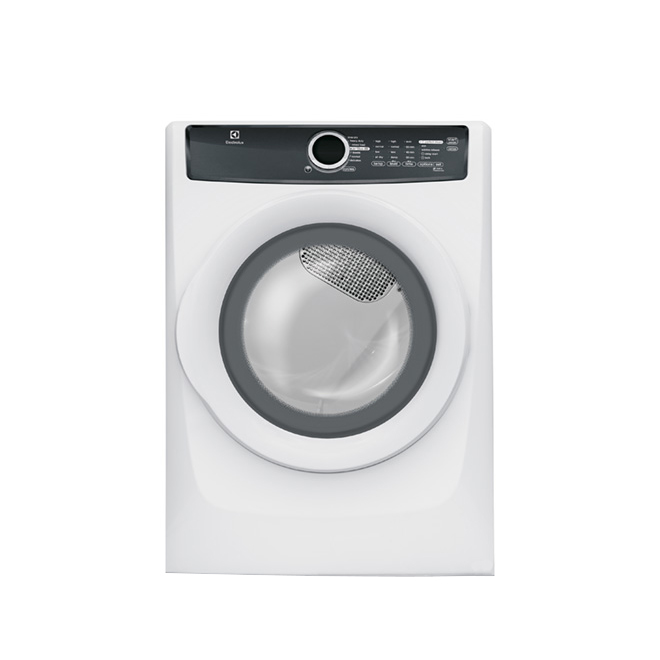 Energy Star Gas Steam Dryer 8 cu. ft. - White